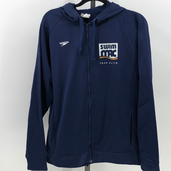 speedo swim mac team elite track suit jacket pants NWT